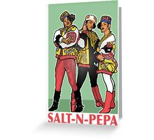 THE SHOWSTOPPERS: SALT-N-PEPA Greeting Card