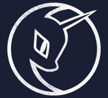 Nightmare Moon Logo - My Little Pony by Astaen