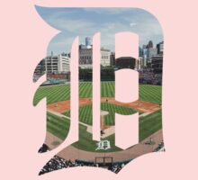 Detroit Tigers Stadium Logo Kids Clothes