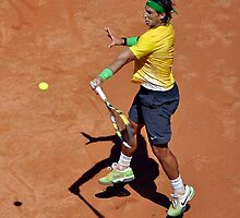 Forehand stroke (Rafael Nadal) by Roberto Bettacchi