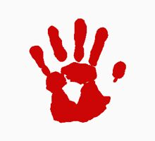 Bloody hand Unisex T-Shirt