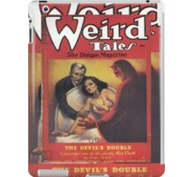 Weird Tales Magazine iPad Case/Skin