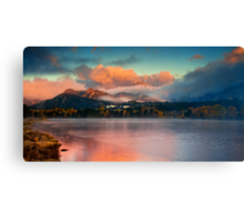 The Skies Of Autumn Canvas Print