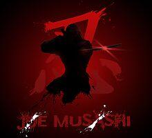 Joe Musashi - Shinobi by TwistedBiscuit