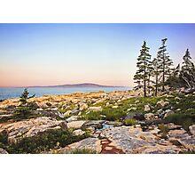 Sunrise Landscape In Maine Photographic Print
