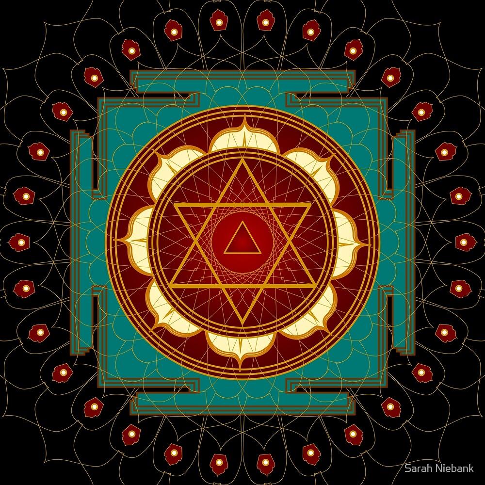 Kali Yantra Mandala by Sarah Niebank