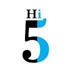 Hi 5 - blue by Skroll
