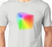 vector field colour wheel Unisex T-Shirt