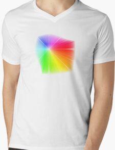 vector field colour wheel Mens V-Neck T-Shirt