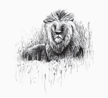 The Proud Lion – a symbol of brotherhood, strength & courage Kids Tee