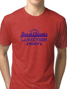 Captain Loki Laufeyson Jotunheim Frost Giants Tri-blend T-Shirt