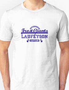 Captain Loki Laufeyson Jotunheim Frost Giants T-Shirt