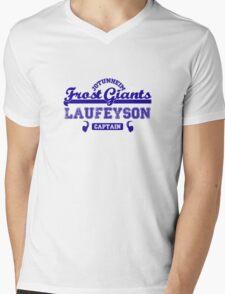Captain Loki Laufeyson Jotunheim Frost Giants Mens V-Neck T-Shirt