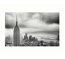 New York - Empire State Building Art Print