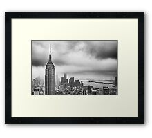 New York - Empire State Building Framed Print