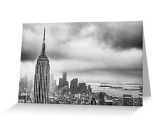 New York - Empire State Building Greeting Card