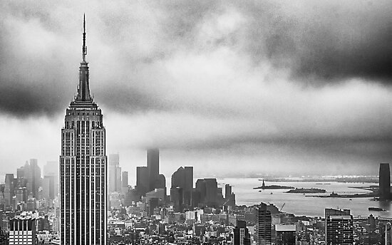 New York - Empire State Building by Cr4zy