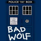 TARDIS iPad BAD WOLF by vanessaisha