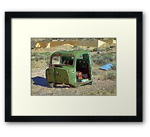 Another Used Truck Framed Print