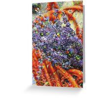 Lavender Machine Dreams Greeting Card