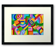 JUST WHAT FIGURES Framed Print
