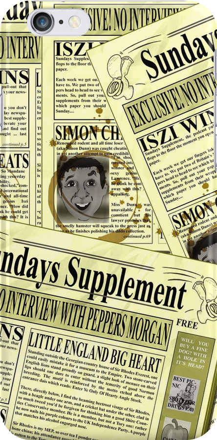 Sundays Supplement Official Tee by iszi