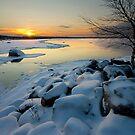 Winter susnset by ilpo laurila
