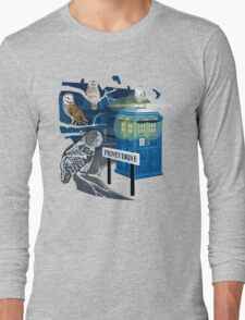 Hedwig Says Who! Long Sleeve T-Shirt