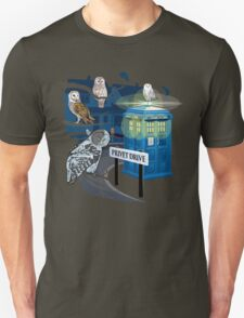 Hedwig Says Who! T-Shirt
