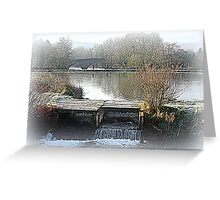 A Touch of Frost Greeting Card