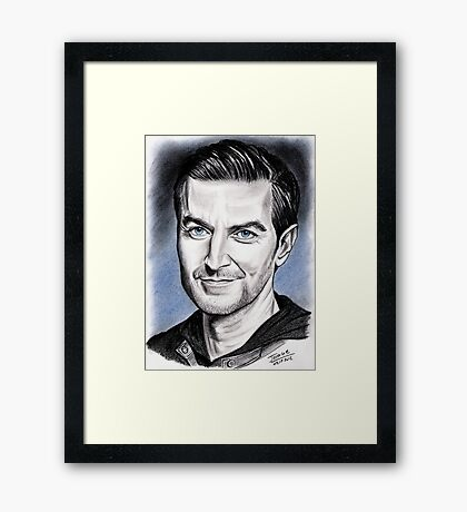 Richard Armitage, NY Framed Print