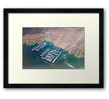 Las Vegas Harbor Framed Print