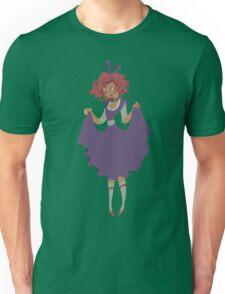 Cute Girl - Purple Dress Unisex T-Shirt