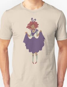 Cute Girl - Purple Dress Unisex T-Shirt