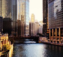 Chicago River by Mike Maher