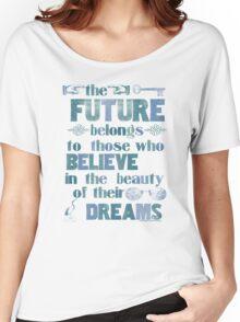 Future - dark blue Women's Relaxed Fit T-Shirt