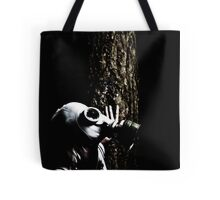 Gas Mask Stalk Tote Bag