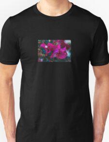 Magenta Floral Machine Dreams T-Shirt