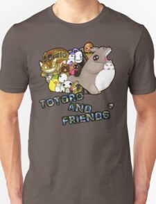 totoro and friends anime design  T-Shirt