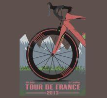Tour De France Bike Baby Tee
