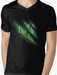 i bleed the matrix Mens V-Neck T-Shirt