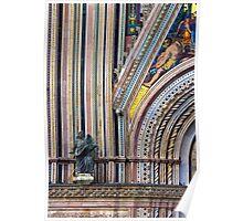 Church in Pitigliano, Tuscany Poster