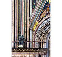 Church in Pitigliano, Tuscany Photographic Print