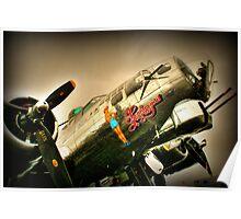 """CAF B-17G """"Sentimental Journey"""" Poster"""
