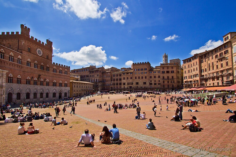 Piazza del Campo, Siena by vivsworld