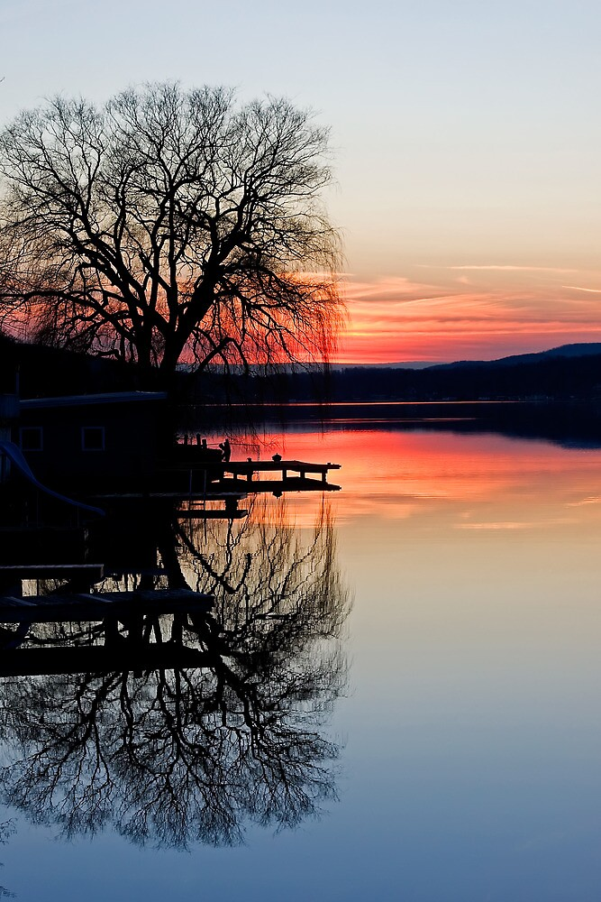 Sunset Mirror by Marty Straub