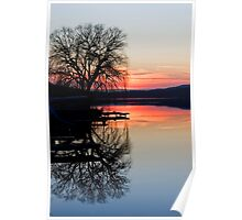 Sunset Mirror Poster