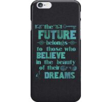 Future - light blue iPhone Case/Skin