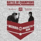 Wizard VS Magnetic man by bomdesignz