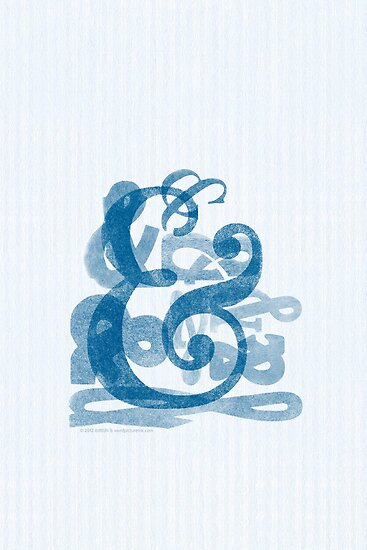 ampersands.. in blue by ltdRUN